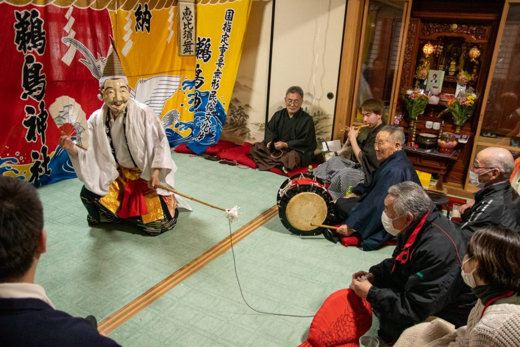 A different Kagura being done in Kamaishi City.