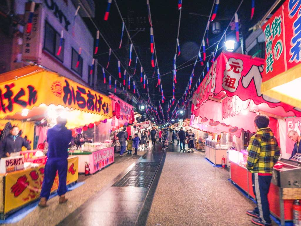 Katsuyama Sagicho Festival