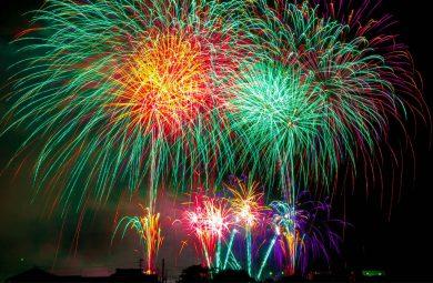 Japan secret firework