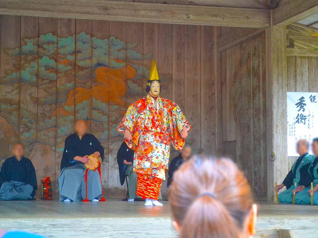 Nō performance Hiraizumi