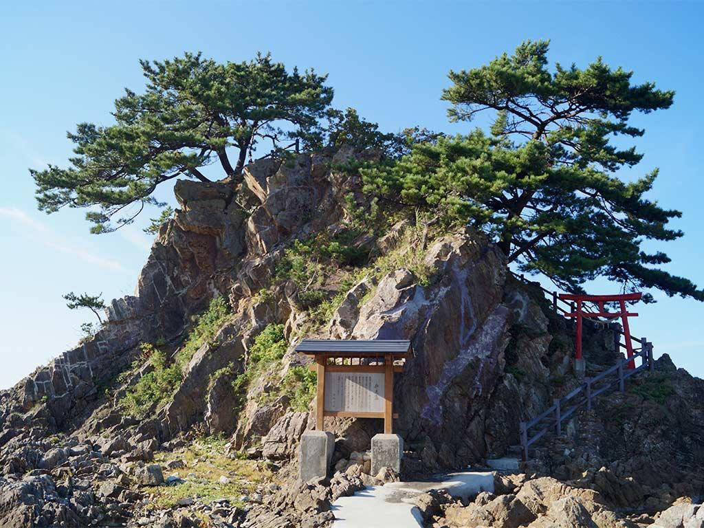 Aomori road trip, Bentenjima Island
